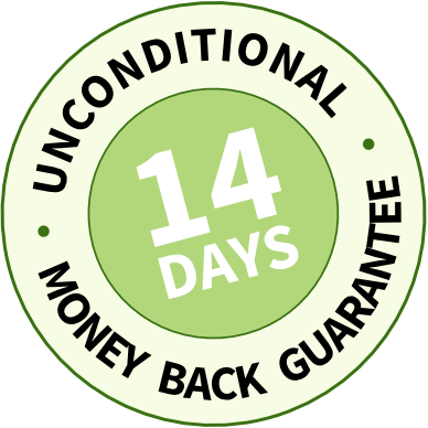 14 day money back guarantee!