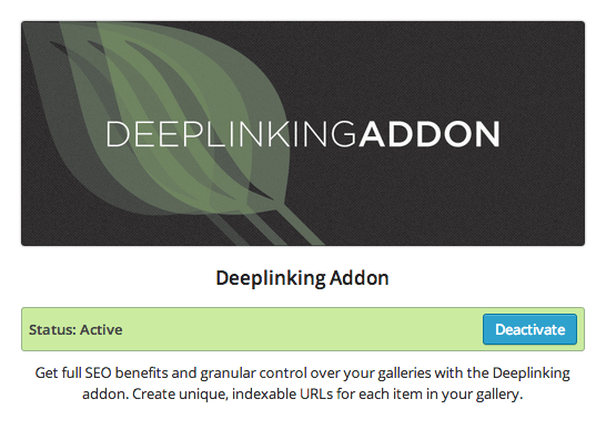 EG - Deeplinking Addon