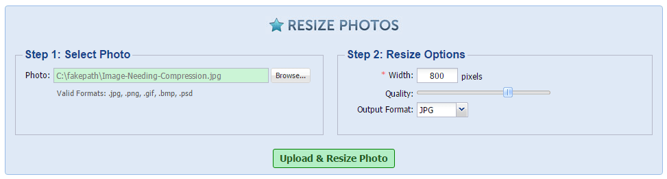 Resize-Photos