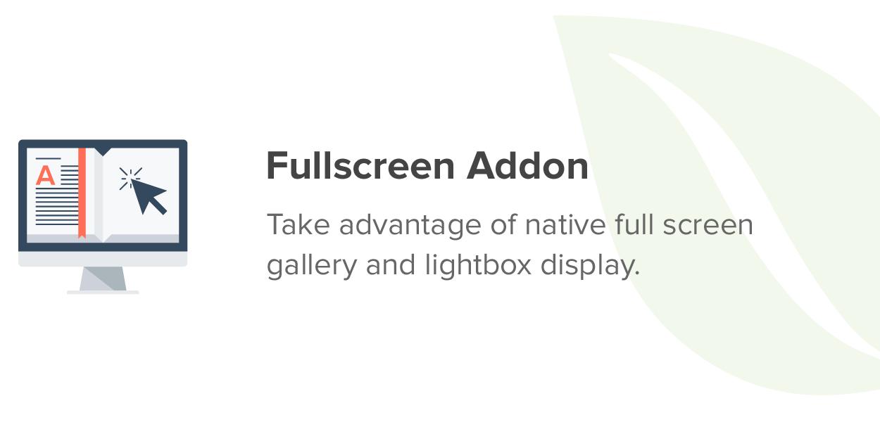 Fullscreen Addon