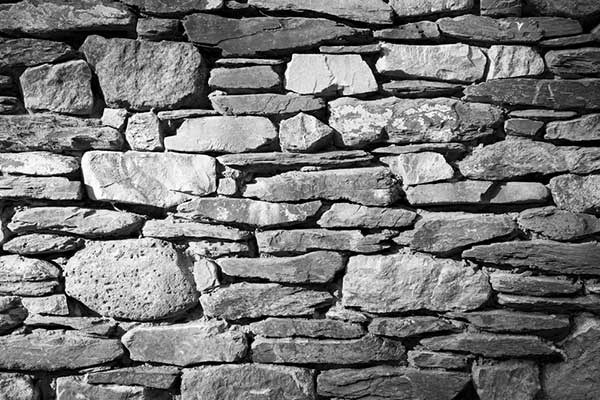 This is a photo of a rock wall.