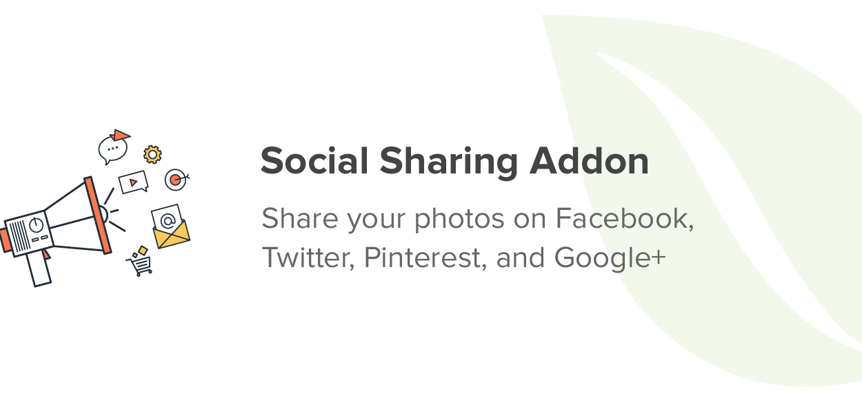 Social Sharing Addon