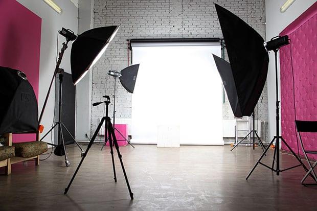 Backdrop and Lighting