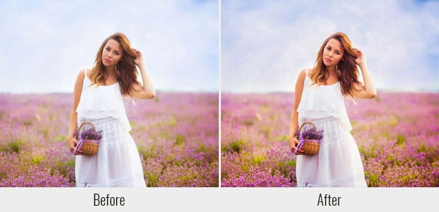 121 Presets para Lightroom, Pop de color