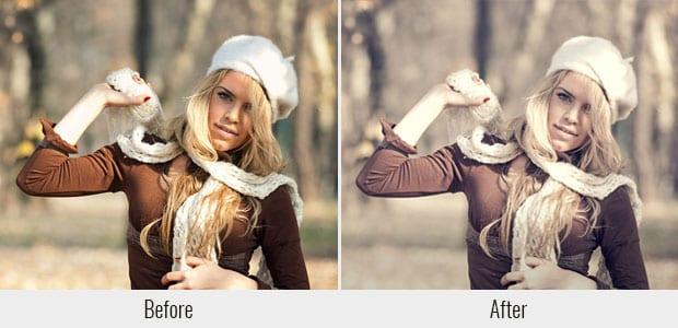 121 Presets para Lightroom, Plomo descolorido