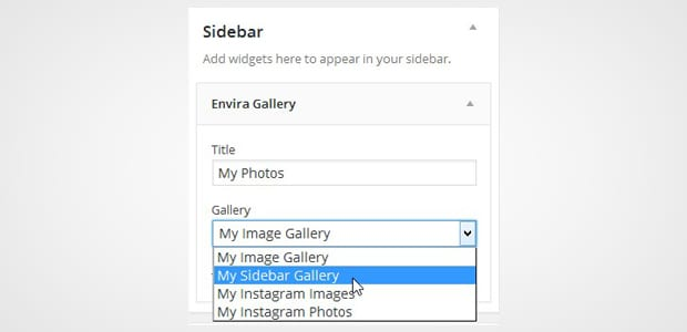 Choose Image Gallery