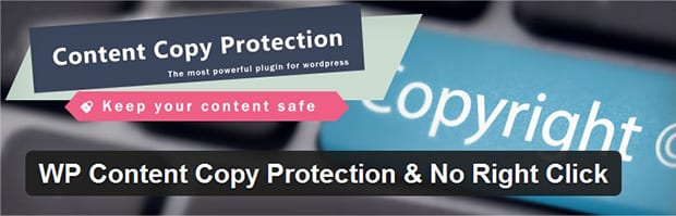 WP Content Copy Protection and No Right Click Header