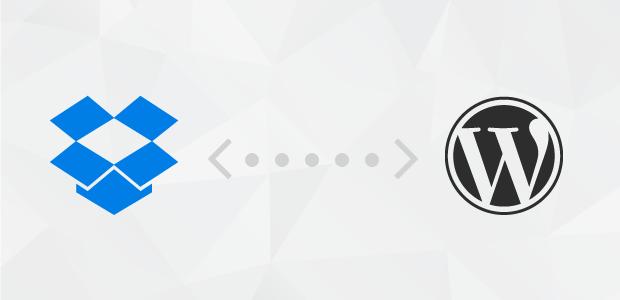 Dropbox to WordPress