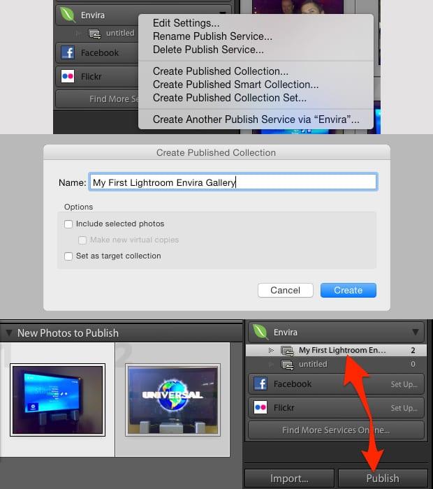 Envira Gallery - Adobe Lightroom for WordPress Preview