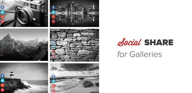 Social Sharing for Galleries