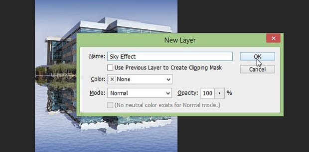 Add New Layer