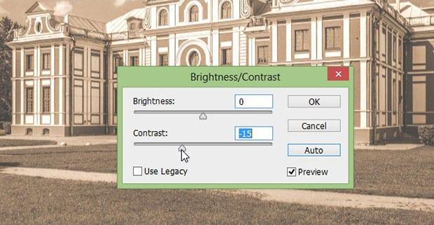 Adjust Brightness Contrast