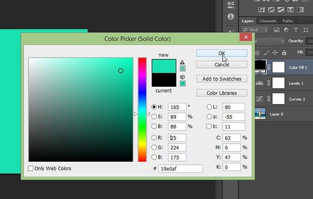 Adjust Solid Color