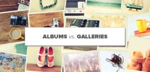 Albums vs Galleries in WordPress