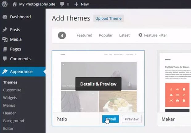 how to edit search appearance overview on wordpress