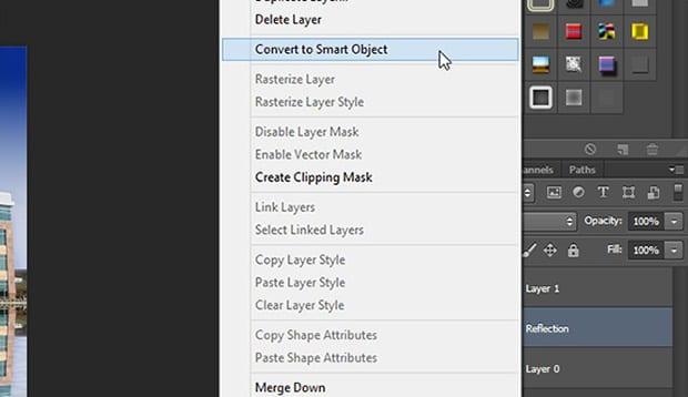 Create Smart Object