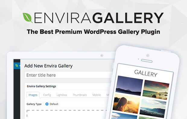 Envira Gallery Website