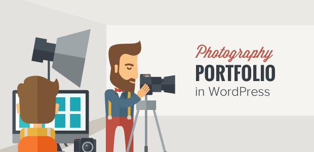 Photography Portfolio in WordPress