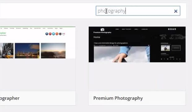 Search Photography Themes