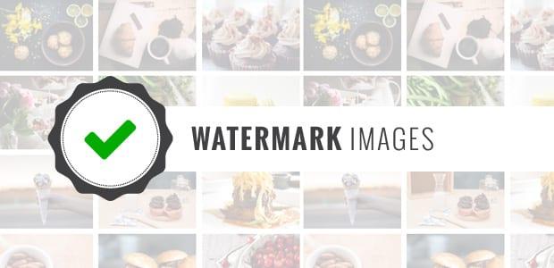 Watermarking Images