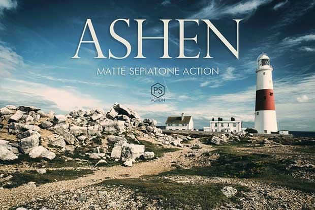 Ashen Matte Landscape Actions