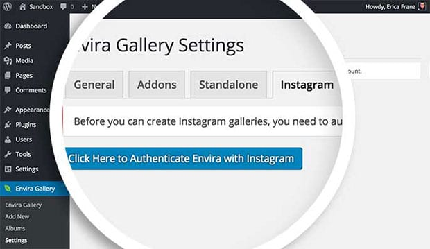 Authenticate Instagram Photos