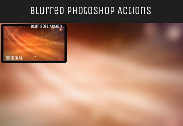 Blurred Background Actions