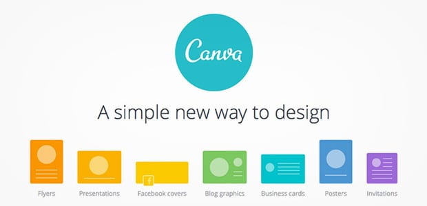 Canva design social media images and images for blog posts