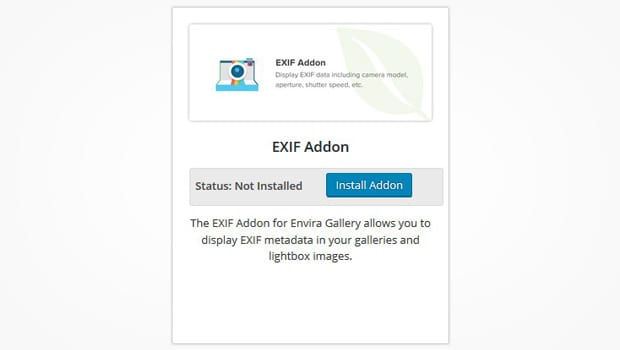 Exif Addon