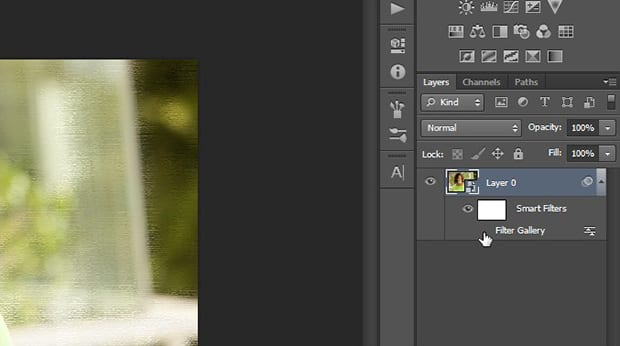 how to make an image look like painting in photoshop