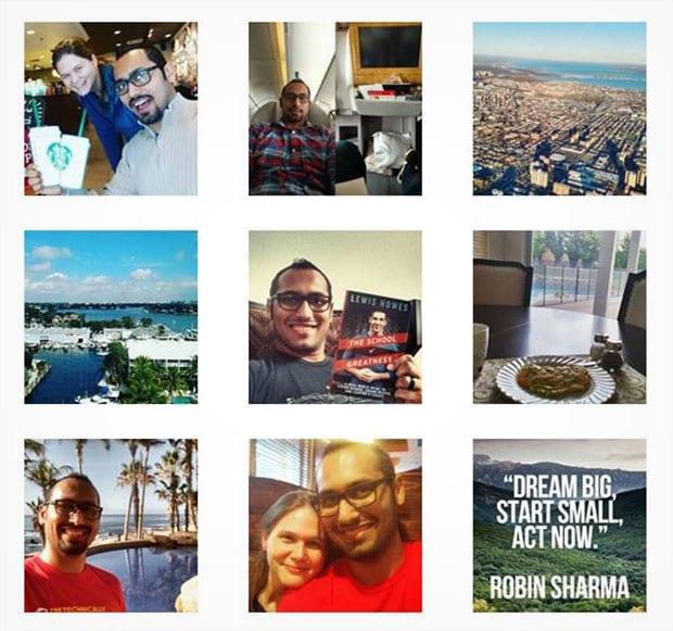 Import Instagram Photos
