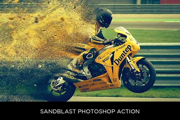 Sandblast Action