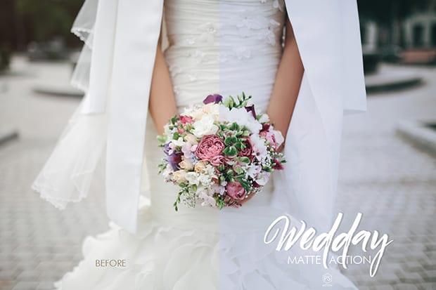 wedday photoshop action