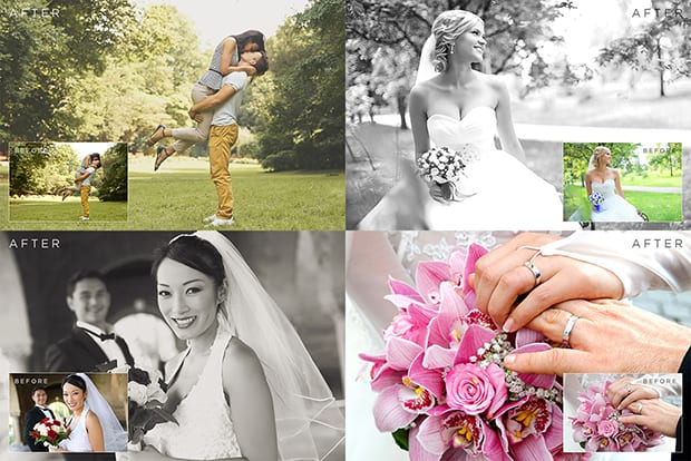 wedding actions