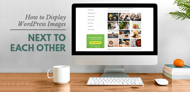 how to display wordpress images next to each other