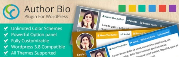 Author Bio WP Plugin