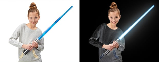 How To Photoshop a Lightsaber Blade