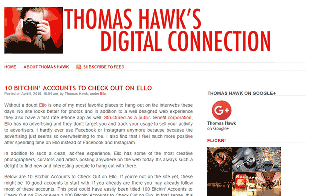 Thomas Hawk Digital Collection