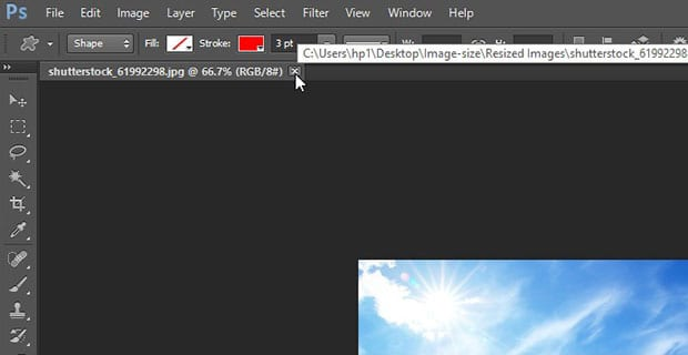 How to Batch Resize Images in Photoshop