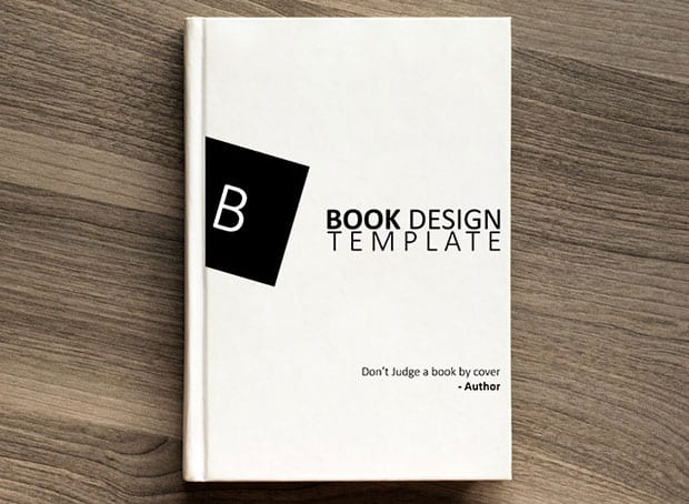 How to create a book design template in photoshop for Design a book jacket template