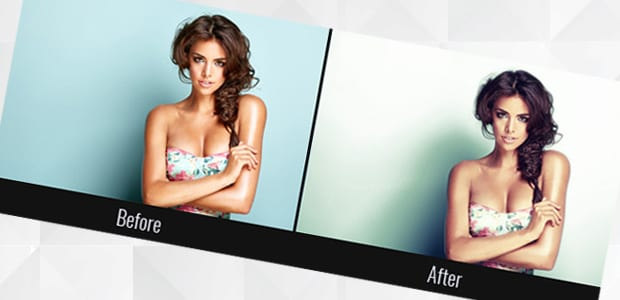 Frequency Separation to Retouch Photos