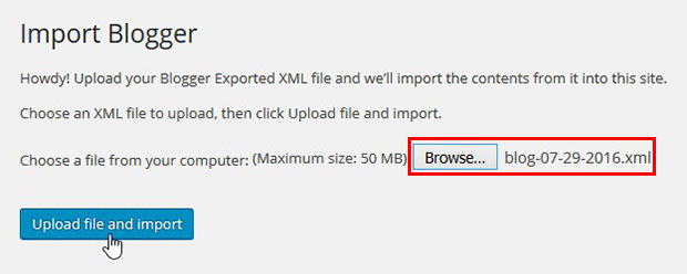 Browse XML
