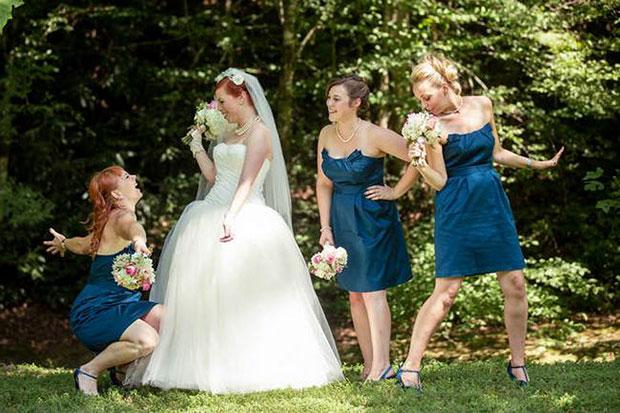 Fun with the Bridesmaids