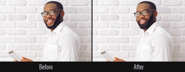 Photoshop a beard