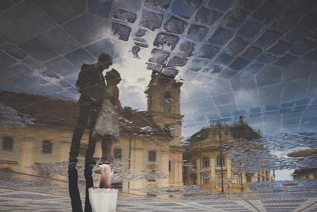 Reflections in Rain