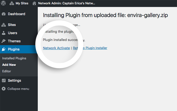 multisite-network-activate-enviragallery-plugin