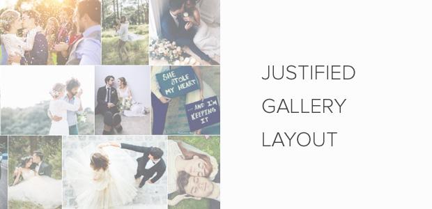Justified Image Gallery