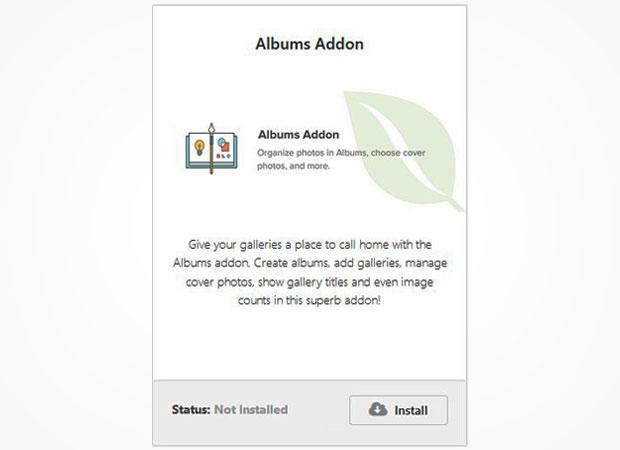 Albums Addon