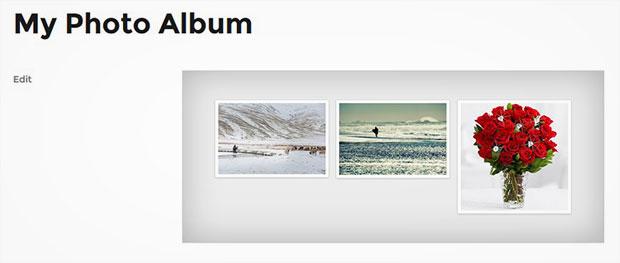 Showcase Your Photo Albums