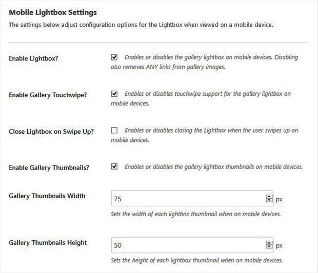 Mobile Lightbox